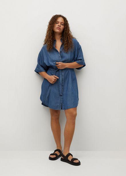 Oferta de Vestido denim lyocell por 19,99€