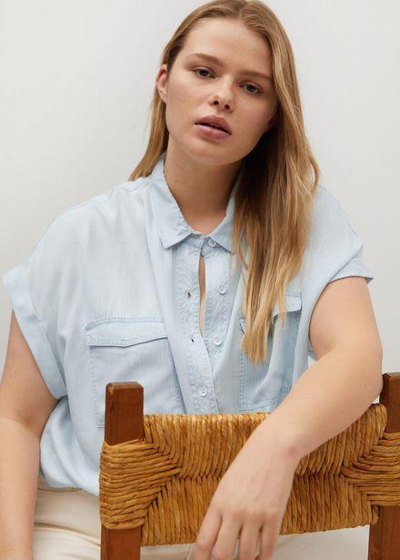 Oferta de Camisa lyocell denim por 19,99€