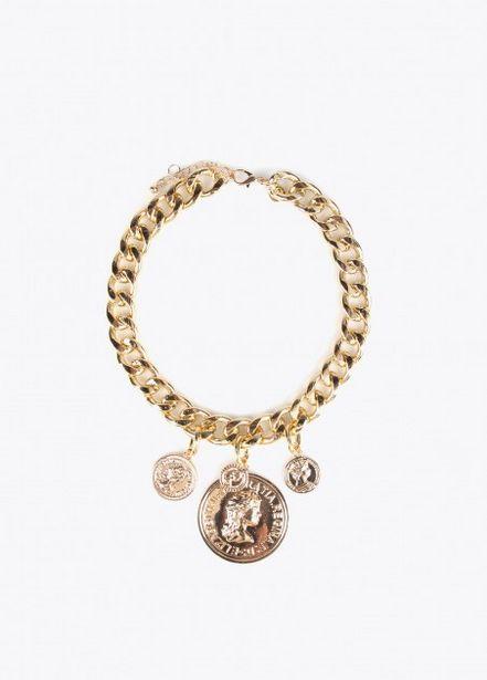 Oferta de Collar largo con moneda por 16,95€