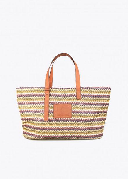 Oferta de Bolso shopper multicolor por 39,95€
