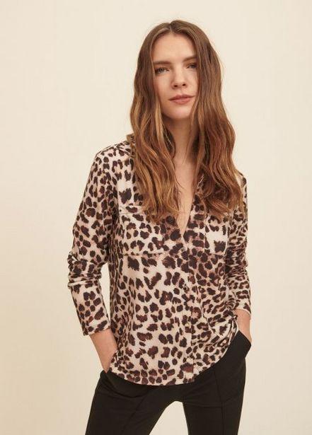 Oferta de Camisa de punto animal print por 68,95€