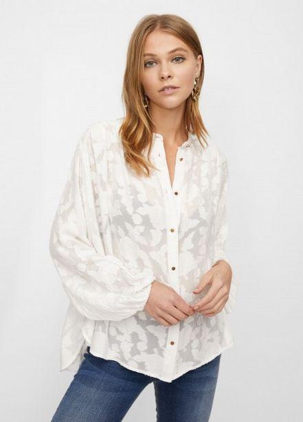 Oferta de Blusa tejido devoré por 39,95€