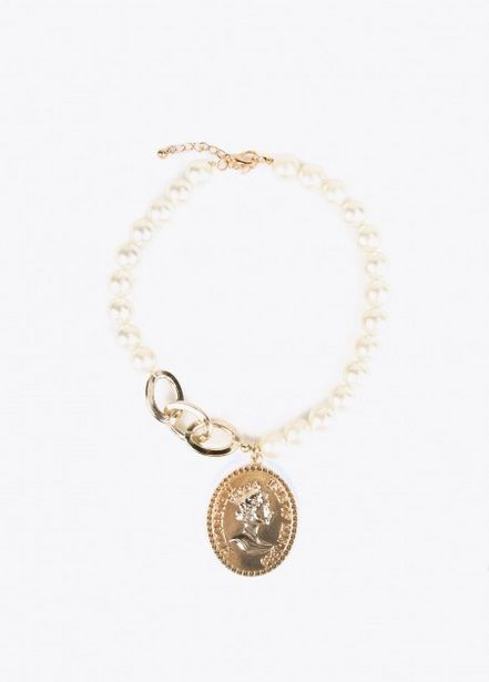 Oferta de Collar perlas por 14,95€