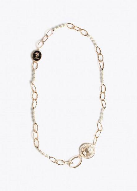 Oferta de Collar largo eslabones y por 16,95€
