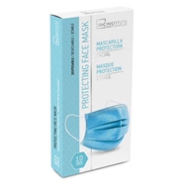 Oferta de Mascarilla Facial Protectora Desechable por 1,5€