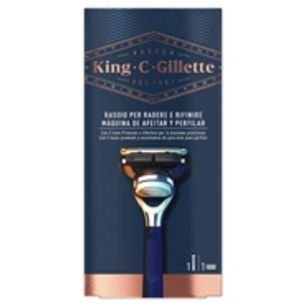 Oferta de KING C. GILLETTE Máquina de Afeitar y Perfilar por 13,99€