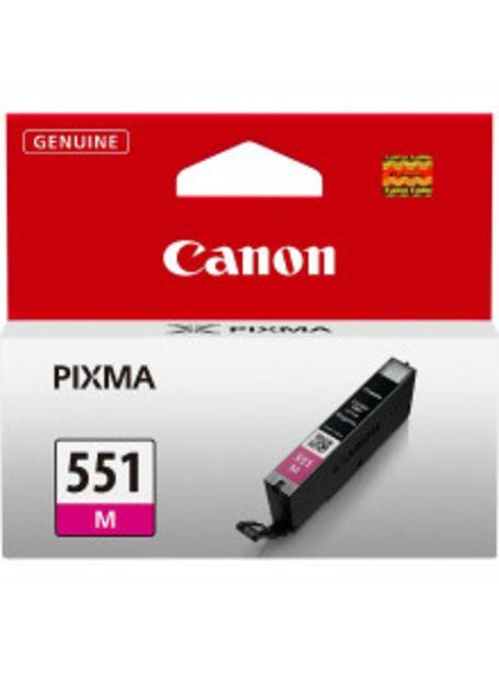 Oferta de TINTA CANON 551 MAGENTA por 12,9€