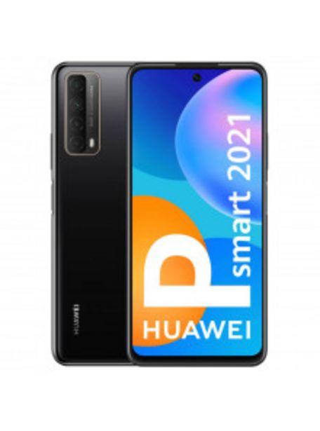 Oferta de TELÉFONO HUAWEI P SMART 2021 DE 16,9CM (6,67'') MIDNIGHT BLACK 4GB - 128GB por 139€