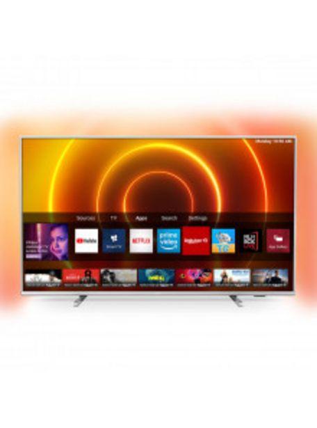 Oferta de TELEVISOR PHILIPS DE 165,1CM (65'') 65PUS7855/12 4K UHD - SMART TV - AMBILIGHT por 649€
