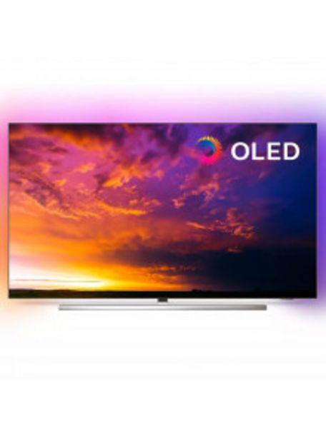 Oferta de TELEVISOR PHILIPS DE 139,7CM (55'') 55OLED854/12 4K UHD - SMART TV - AMBILIGHT por 949€