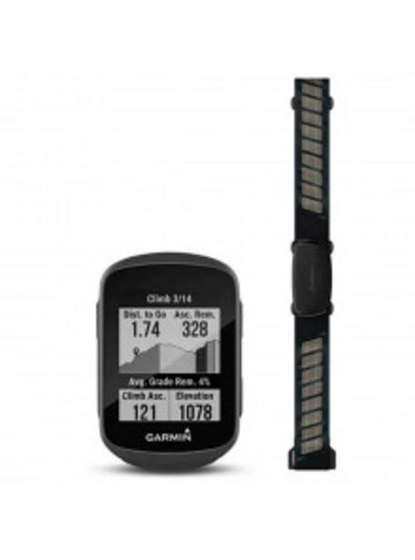 Oferta de GPS GARMIN EDGE 130 PLUS PACK HRM 010-02385-11 por 229€