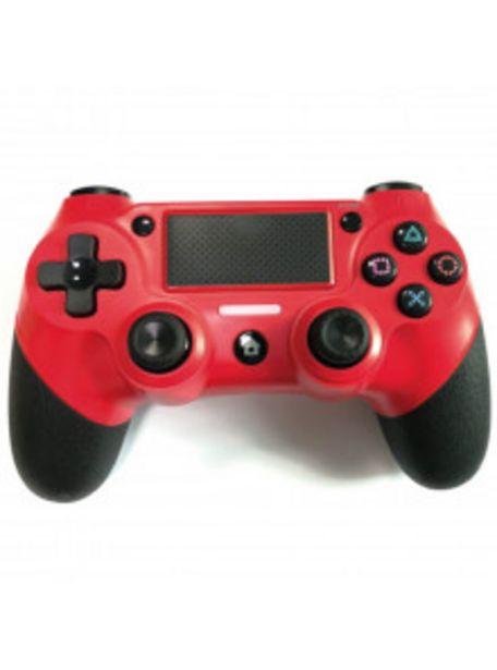 Oferta de MANDO PS4 NUWA DUAL SHOCK ROJO por 29,9€