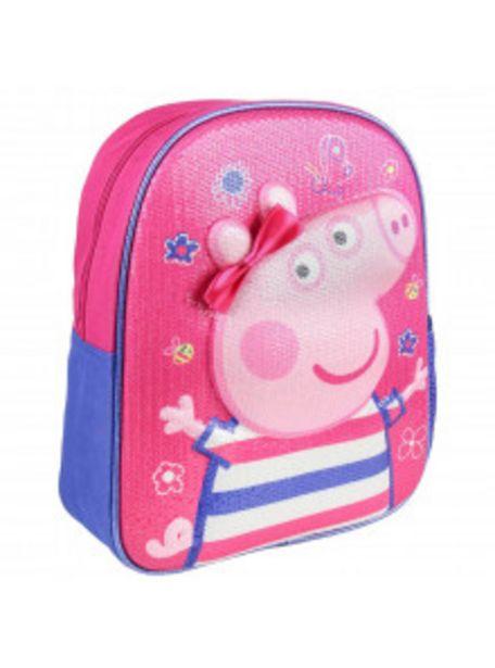 Oferta de MOCHILA INFANTIL 3D PREMIUM PEPPA PIG 2100002622 por 12,9€