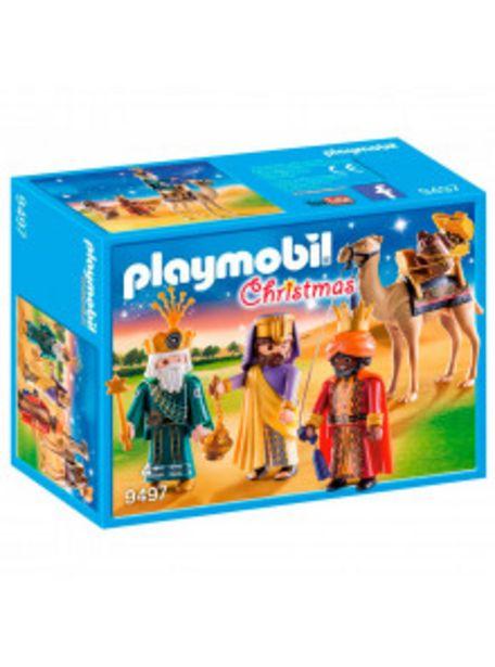 Oferta de PLAYMOBIL REYES MAGOS 9497 por 19,9€