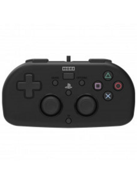 Oferta de MANDO PS4 HORI MINI GAMEPAD BLACK por 29,9€