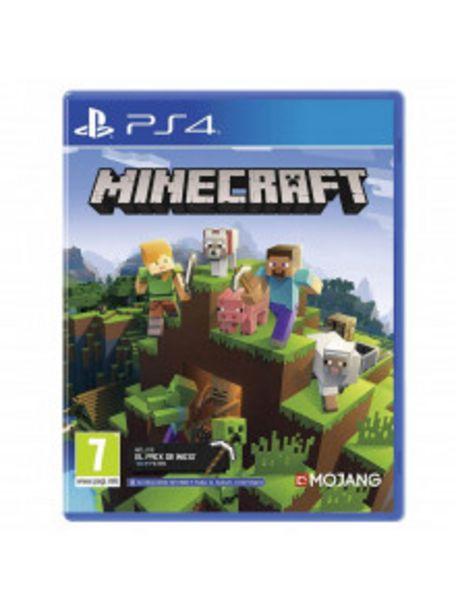 Oferta de PS4 MINECRAFT por 24,9€