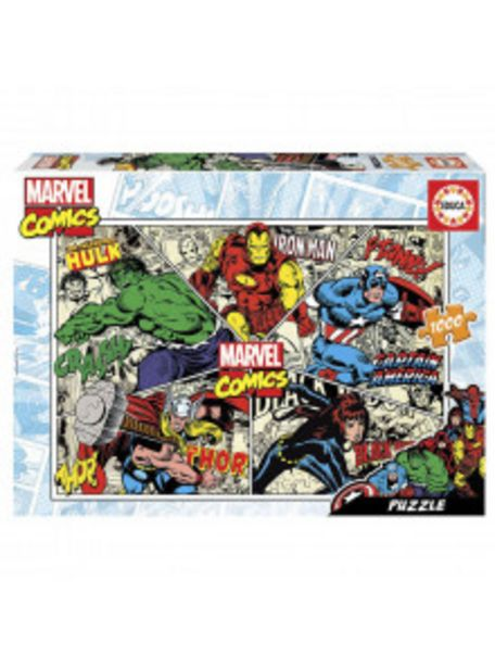 Oferta de PUZZLE MARVEL COMICS PUZ18498 1000 PIEZAS por 9,9€