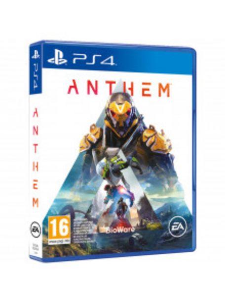 Oferta de PS4 ANTHEM por 9€