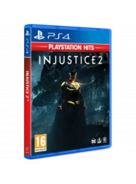 Oferta de PS4 INJUSTICE 2 (PLAYSTATION HITS) por 17,9€