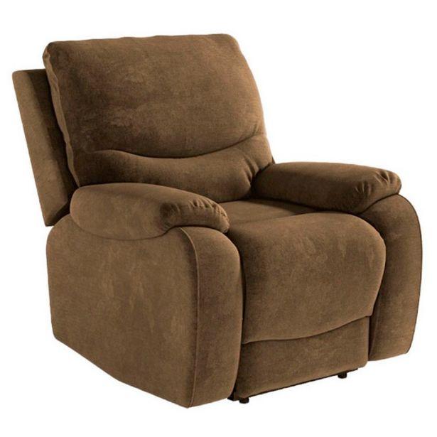 Oferta de Sillón relax eléctrico con función Power lift modelo VENECIA en tapizado Elephant por 496,3€