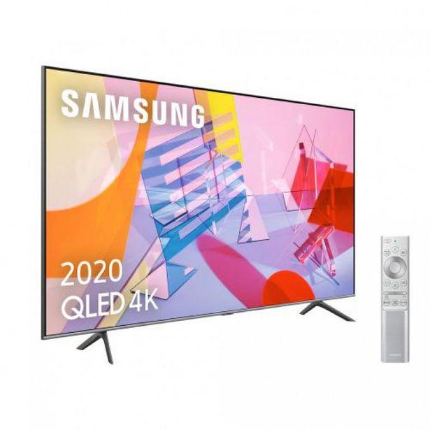 """Oferta de Televisor QLed 55"""" Ultra HD 4K SAMSUNG QE55Q65RAUXXC por 899€"""