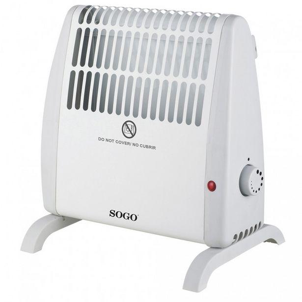 Oferta de Convector mini 520W SOGO CALSS18405 por 16,9€