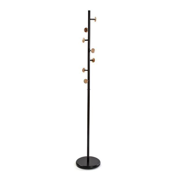 Oferta de Perchero de pie metal negro 18791590 por 52,9€