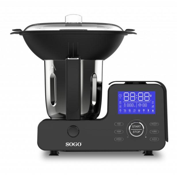 Oferta de Robot de cocina SOGO SS-14555 por 185€