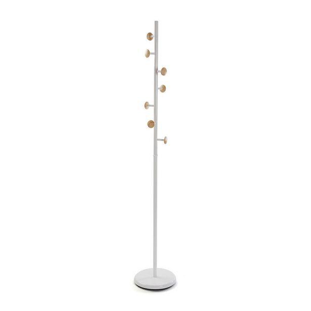 Oferta de Perchero de pie metal blanco 18791588 por 52,9€