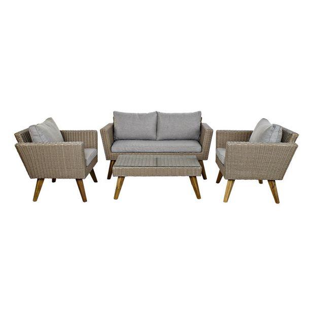 Oferta de Set 3 sofás 137X66X70,5 y mesa de café MB 166666 por 624,5€