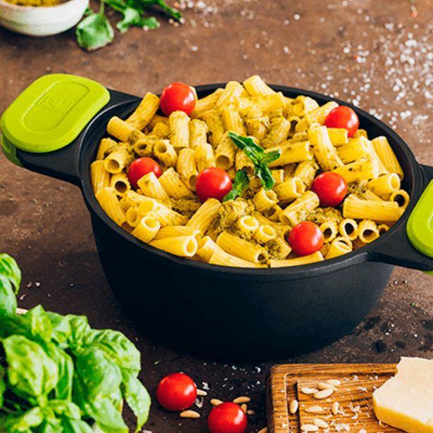 Oferta de Cacerola Alta de 24cm Foodie BRA A490324. por 37,9€