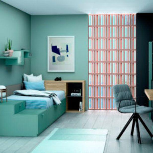 Oferta de Muebles de habitación juvenil de estilo minimalista cómodo y funcional por 2560€
