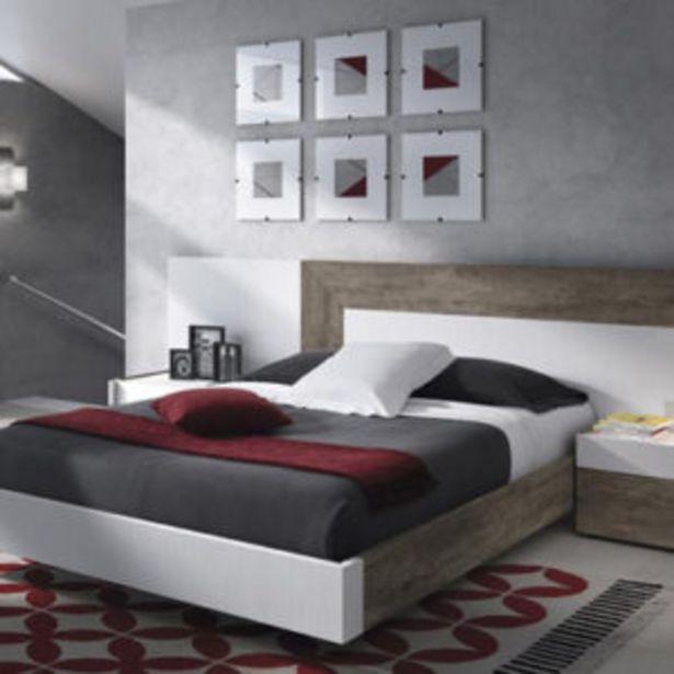 Oferta de Dormitorio con bañera en roble aserrado y poro fresno blanco por 1094€