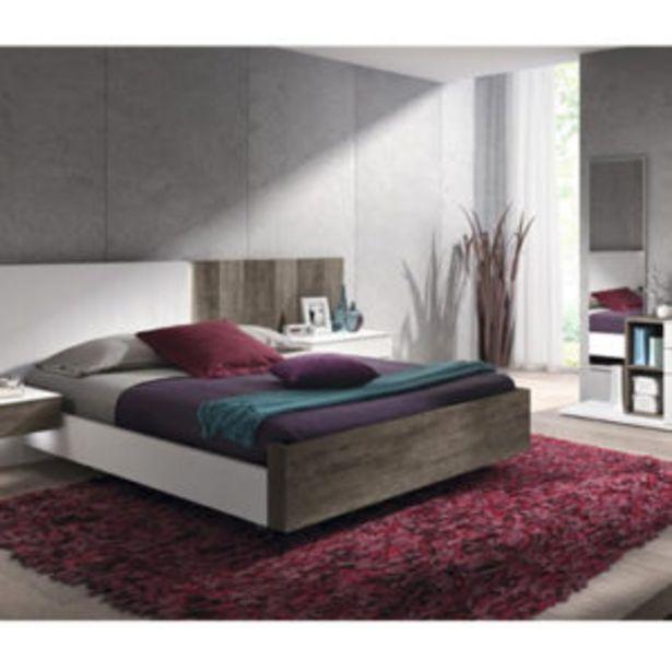 Oferta de Moderno dormitorio de matrimonio con acabados en blanco fresno y roble por 1958€