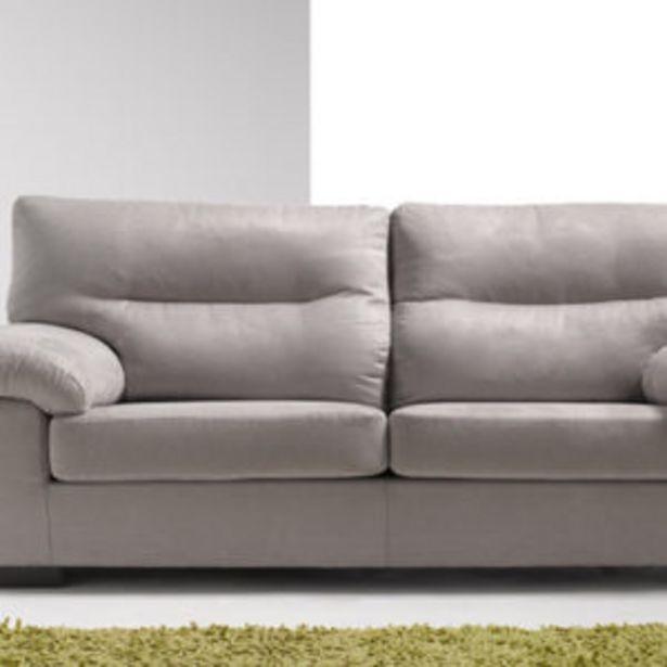 Oferta de Sofá de 3 plazas fijo y desenfundable. Medidas: 195×89 cms. por 528€