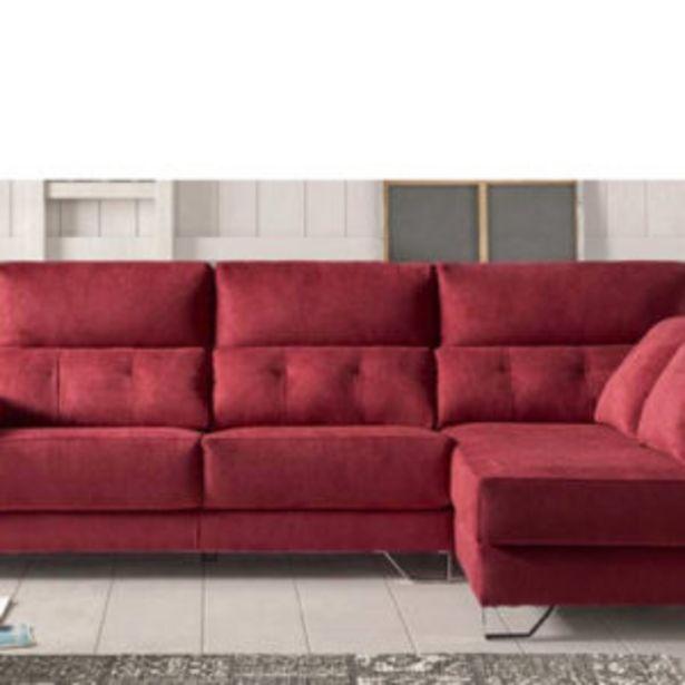 Oferta de Sofá chaise longue de 3 plazas con viscoelástica de 289 cm de largo por 1367€