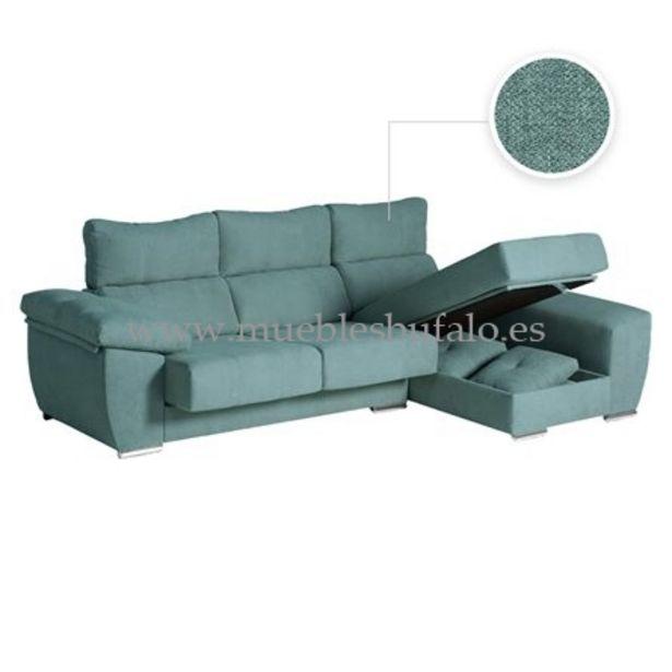 Oferta de Sofá chaise longue Berlín 246x142 Celia 12 Derecho por 789€