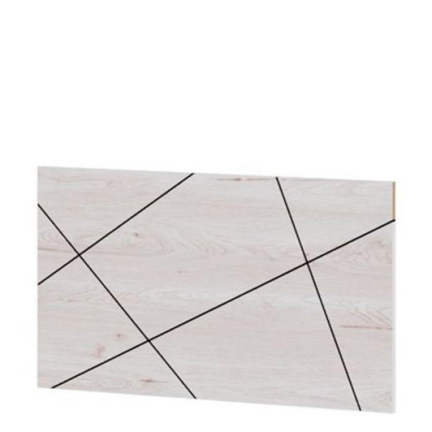 Oferta de Cabecero juvenil raya Start, 110x60 cm Artic por 30€