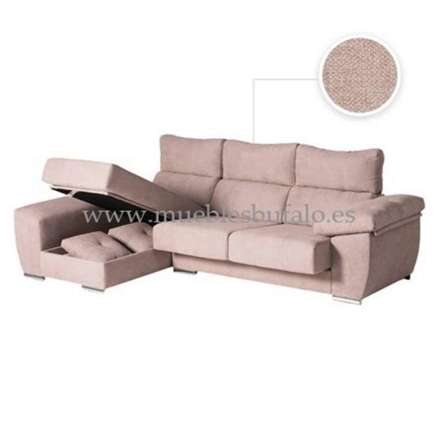 Oferta de Sofá chaise longue Berlín 286x170 Celia 13 Izquierdo por 889€