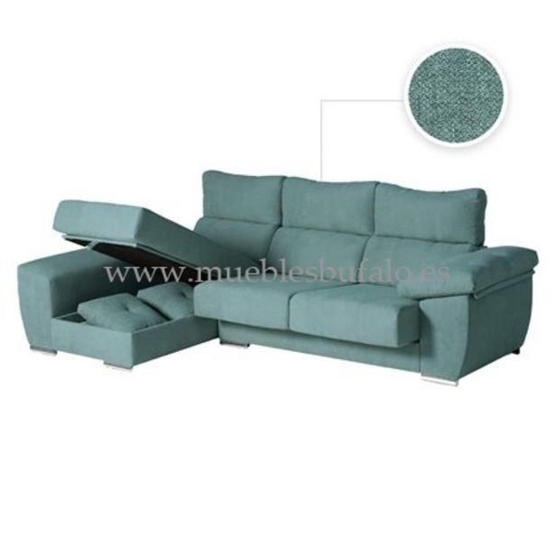 Oferta de Sofá chaise longue Berlín 246x142 Celia 12 Izquierdo por 789€