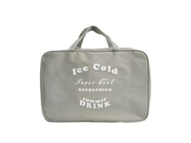 Oferta de NEVERA ICE COLD GRIS 44X18X31CM por 8,99€