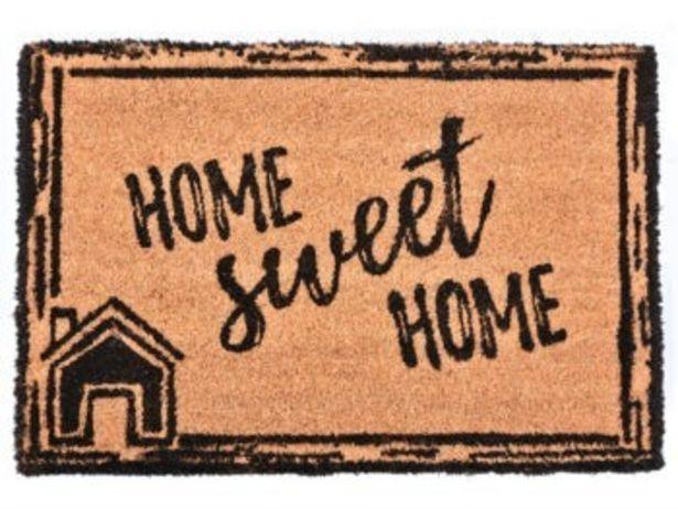 Oferta de FELPUDO 40X60 HOME SWEET HOME por 9,99€