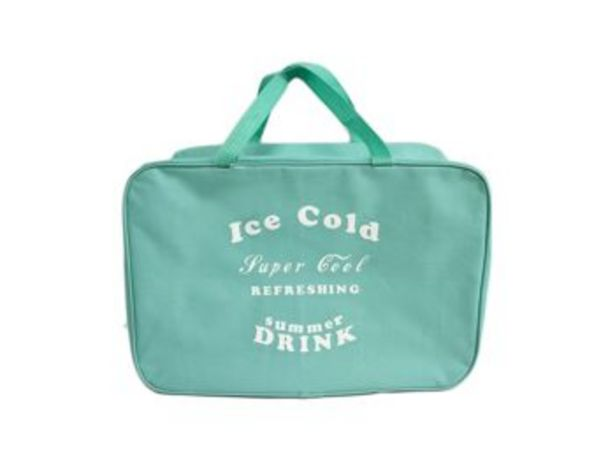 Oferta de NEVERA ICE COLD TURQUESA 44X18X31CM por 8,99€