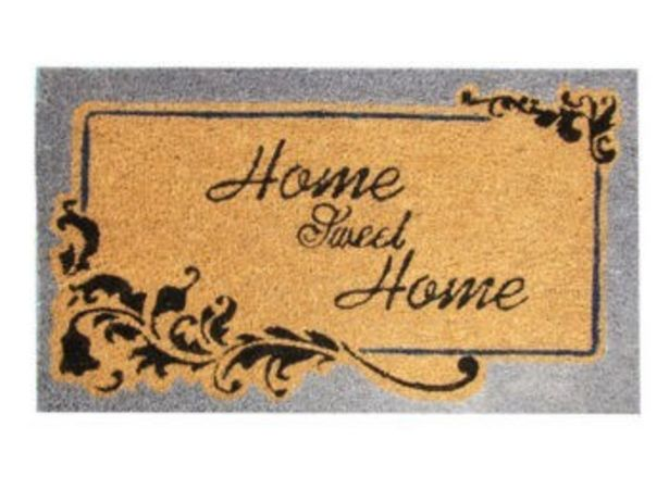 Oferta de FELPUDO 60X40 HOME SWEET HOME por 8,99€