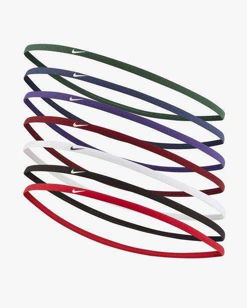 Oferta de Nike Accessories · Cintas Pelo Delgadas (Pack 8Uds) por 10€