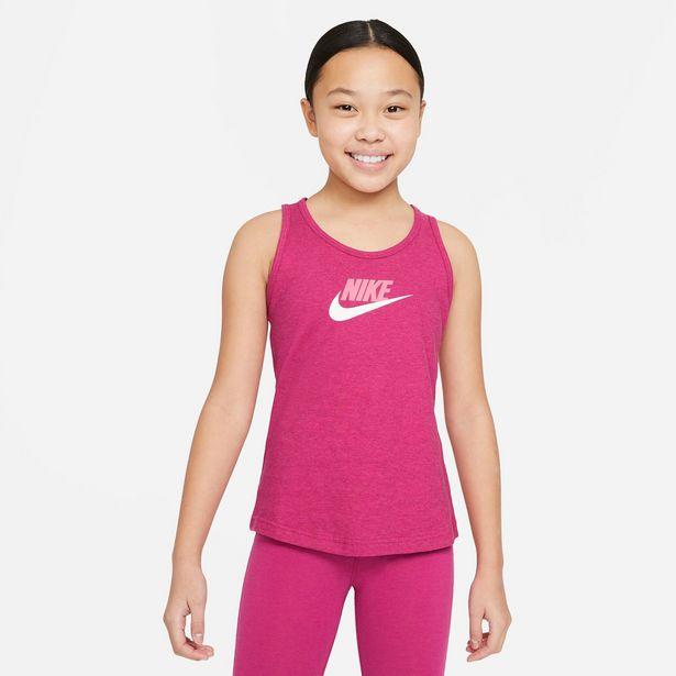 Oferta de Nike · Camiseta sin mangas Sportswear Big Kids' por 13,99€