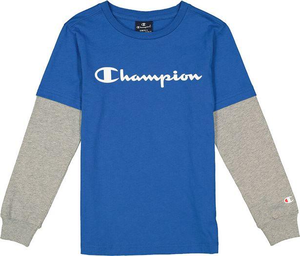 Oferta de Champion · Camiseta Manga Larga Logo por 11,27€