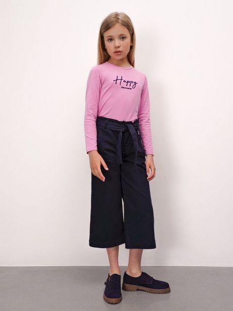 Oferta de Pantalón culotte azul por 69,99€
