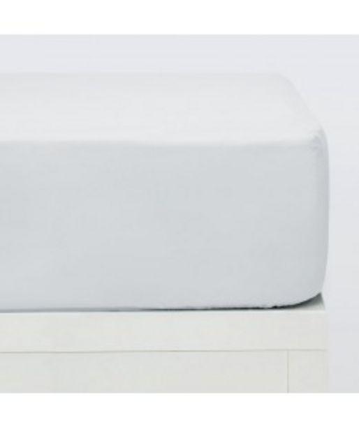 Oferta de Sabanas bajeras algodón blanco por 11,2€