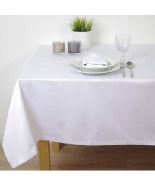 Oferta de Mantel saten blanco hostelería por 5,1€